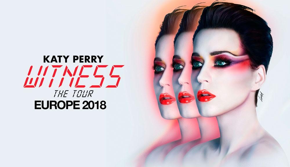 Entradas Katy Perry Witness Tour