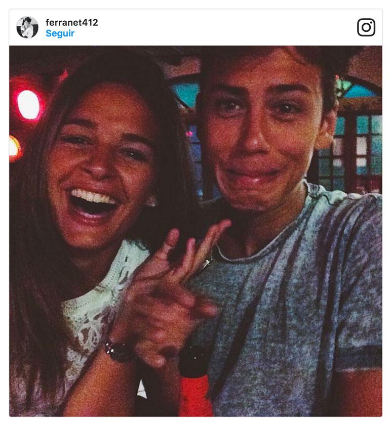 El ex novio de Laura Escanes