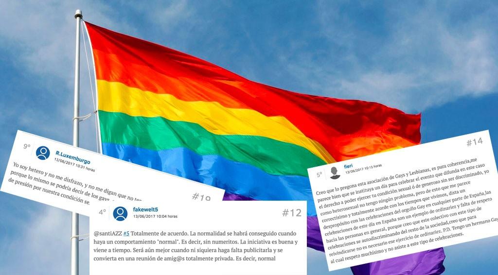 Homofobia en España.
