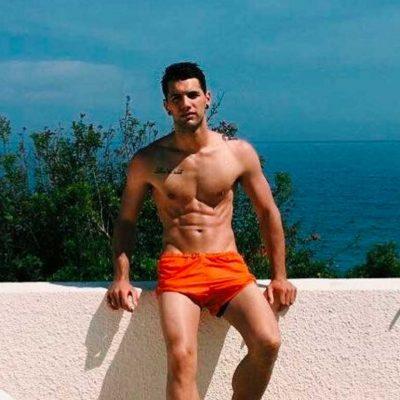 Albert Barranco Comas desnudo