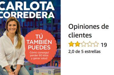 Críticas libro Carlota Corredera