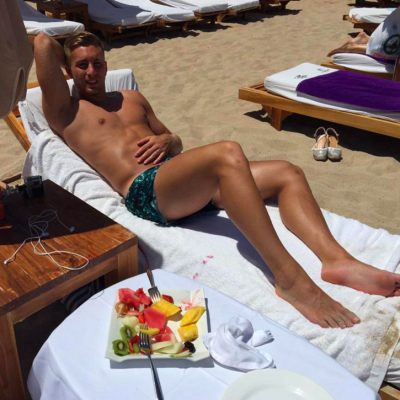Gerard Deulofeu desnudo