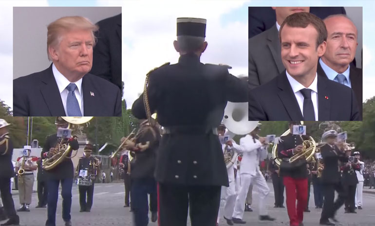 Macron y Trump - Daft Punk