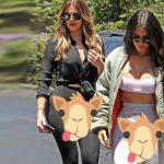 Klhoé y Kim Kardashian