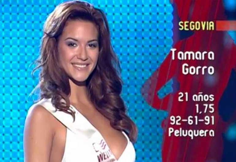 Tamara Gorro Miss Segovia
