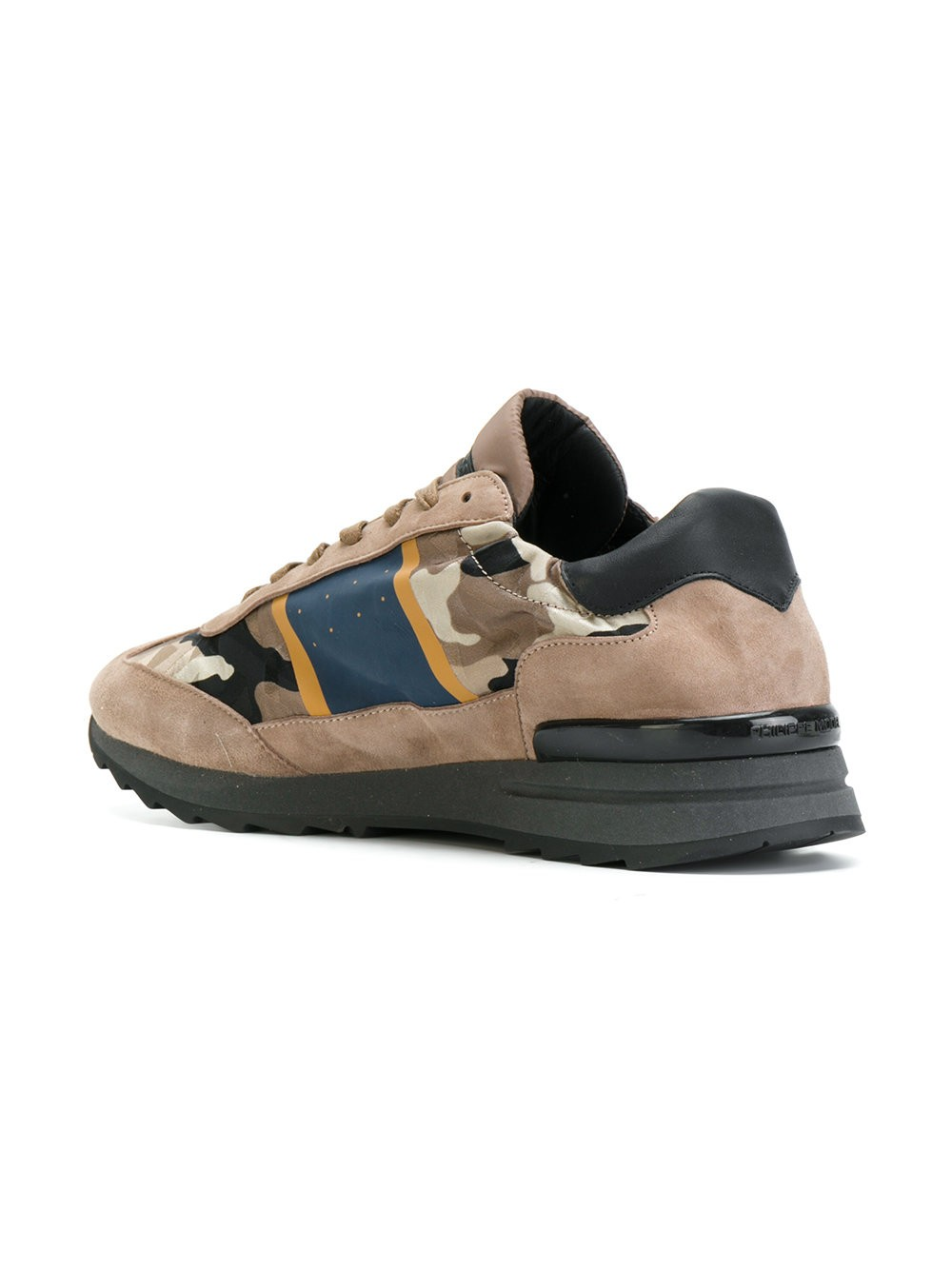 PHILIPPE MODEL  zapatillas con estampado militar