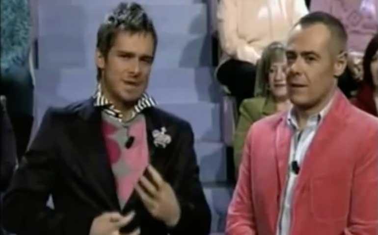 Jordi González y Enric Escudé en 'TNT'.