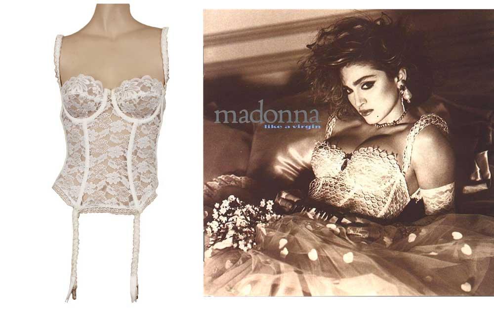 Madonna corset Maripol falso