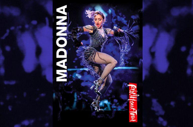Madonna Rebel Heart Tour Spotify