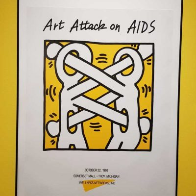 Art Attack AIDS - Keith Haring
