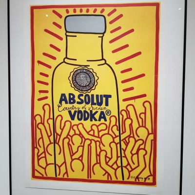 Keith Haring - Absolut Vodka