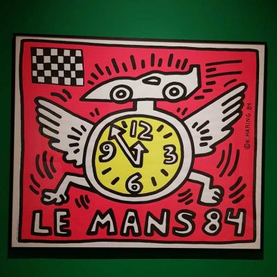 Keith Haring Le Mans 84