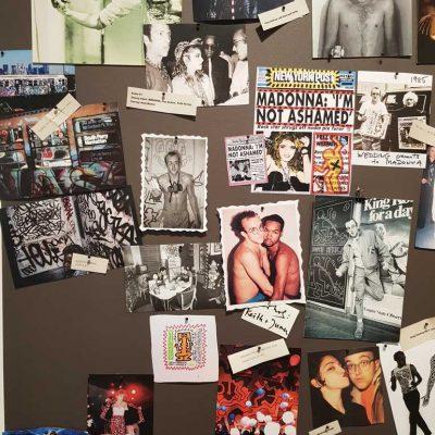 Keith Haring y Madonna