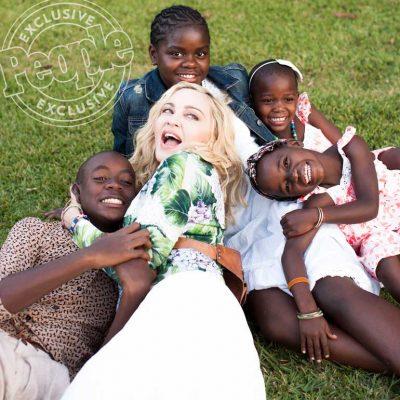 Madonna en la revista People