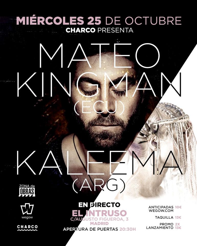 Mateo Kingman y Kaleema en Madrid