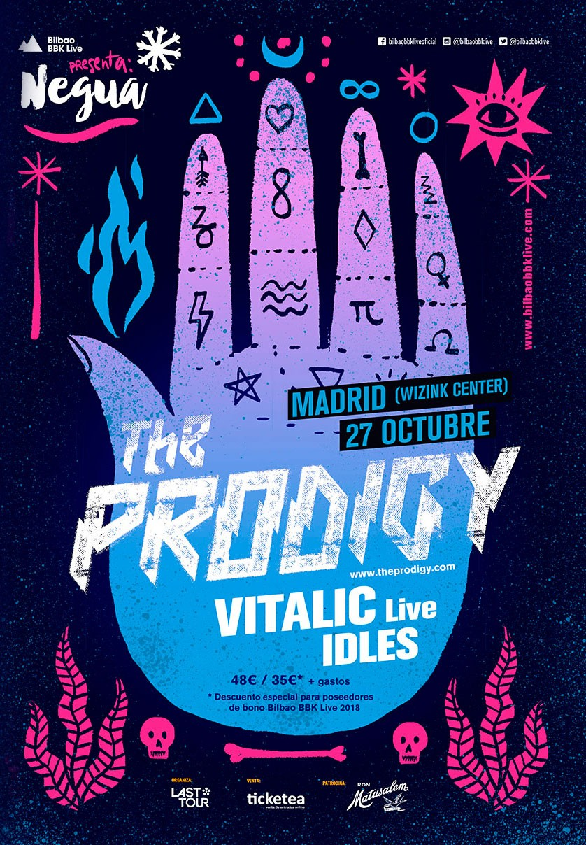 Entradas Negua The Prodigy Madrid
