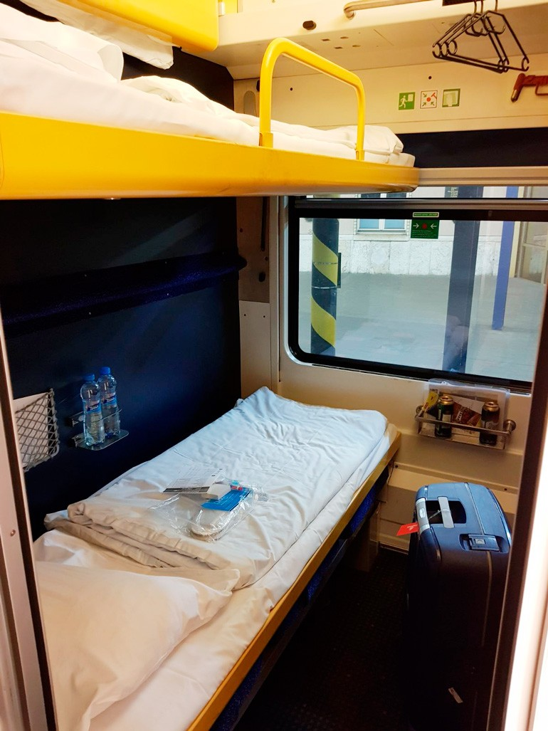 Night Train Bratislava Berlin Cabin Deluxe