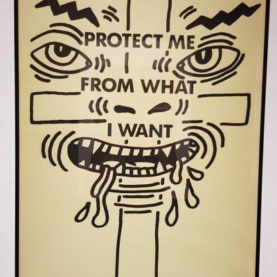 Keith Haring Protect Me From What I Want