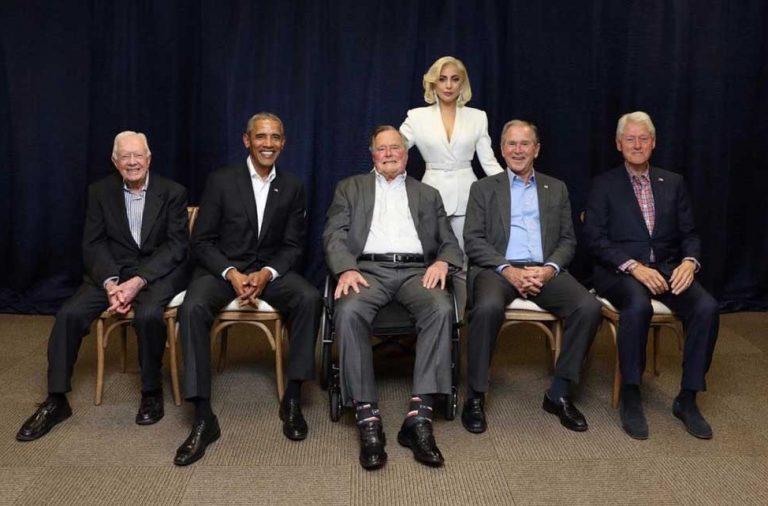 Lady Gaga presidentes Estados Unidos