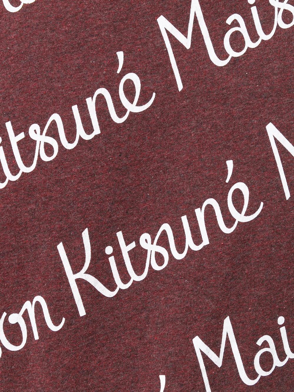Camiseta de Maison Kitsuné