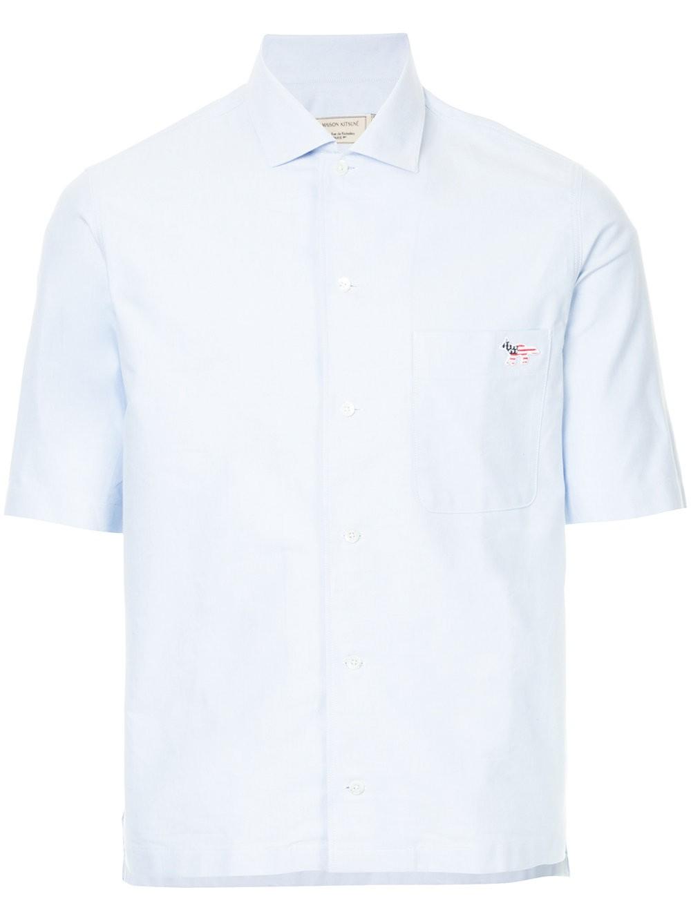 Camisa Oxford de Maison Kitsuné.
