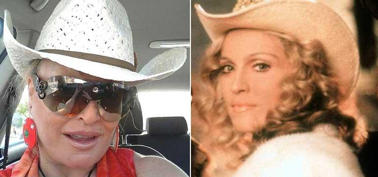 Está Aramis Fuster Haciendo Un Tributo A Madonna En Instagram