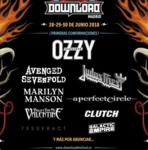 entradas Download Festival Madrid