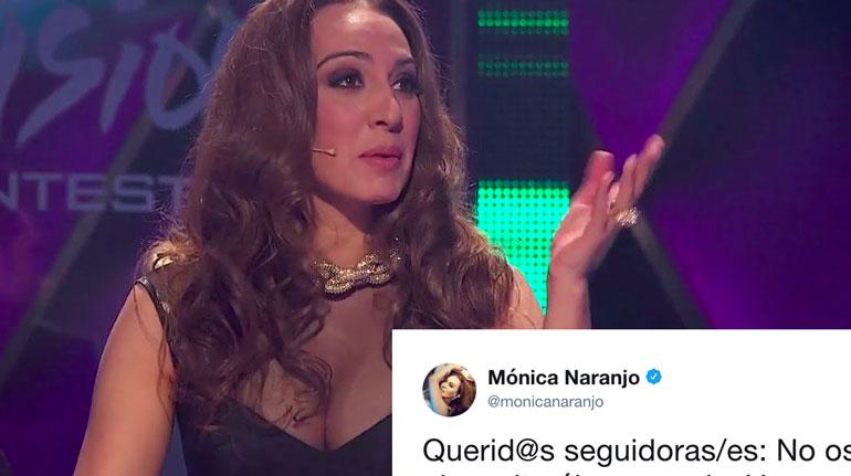 Mónica Naranjo Twitter