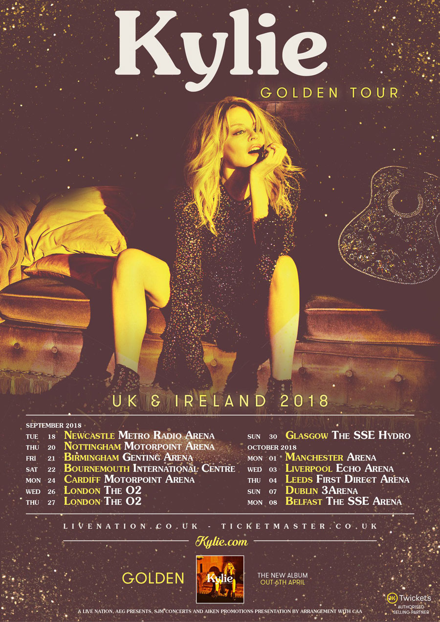 Kylie Minogue 'Golden Tour'