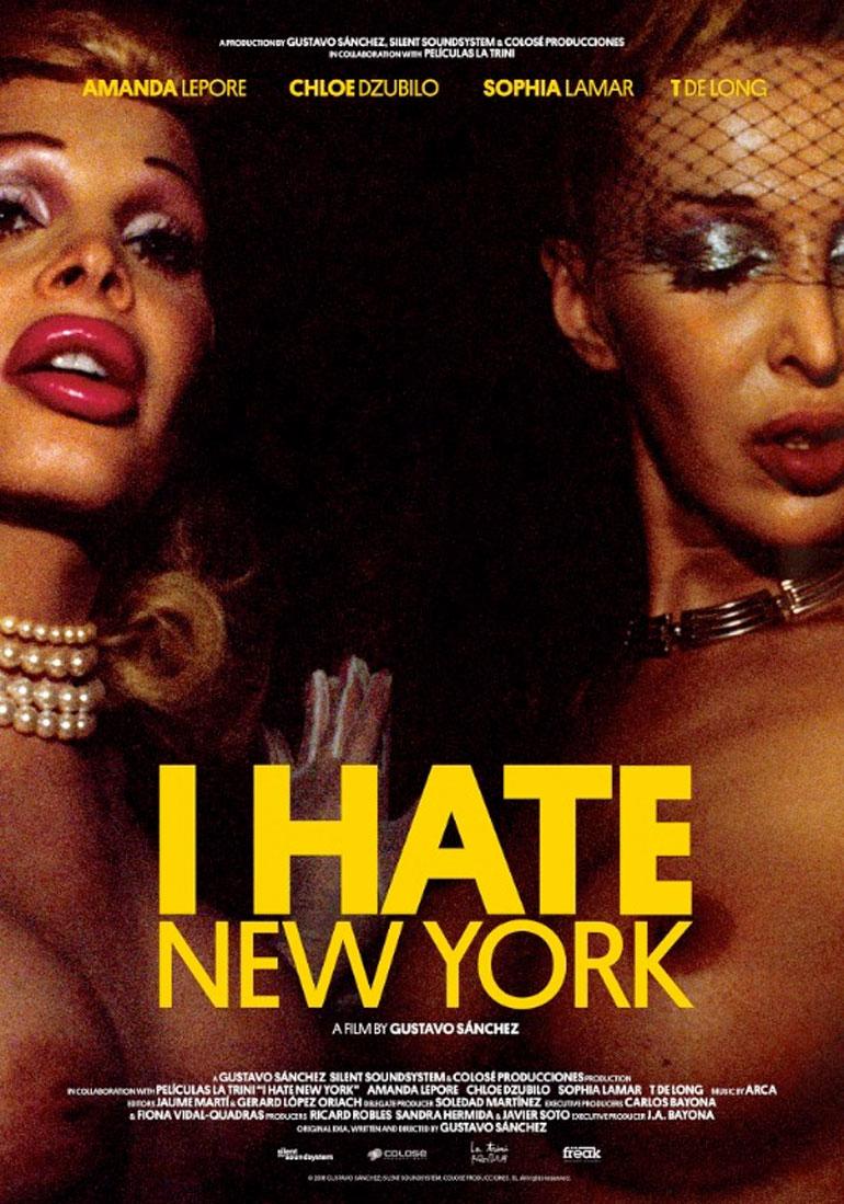 Resultado de imagen de i hate new york de gustavo sanchez
