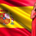 Marta Sánchez Himno España