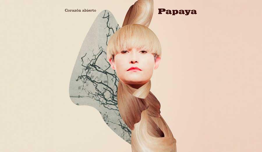 Papaya - Corazón Abierto