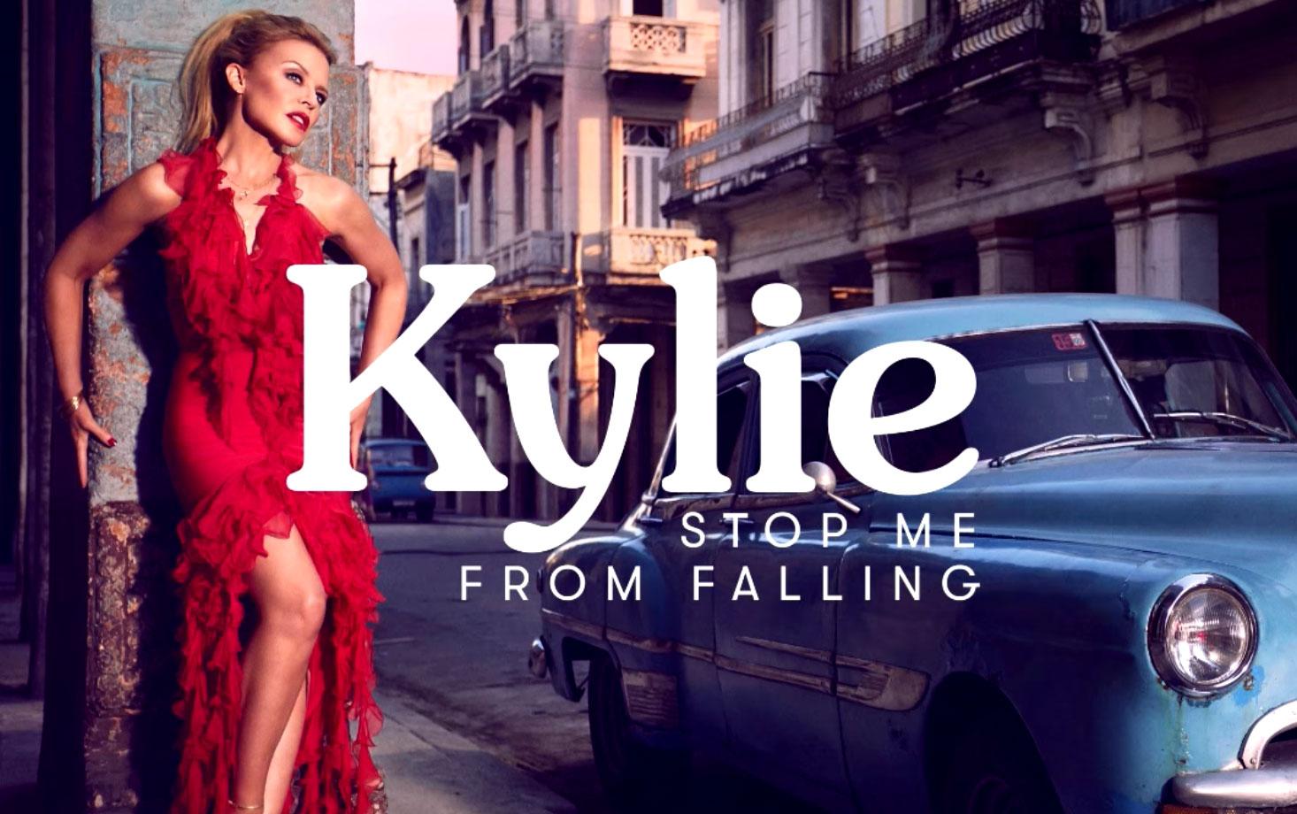 Kylie Minogue y Gente De Zona 'Stop Me From Falling'