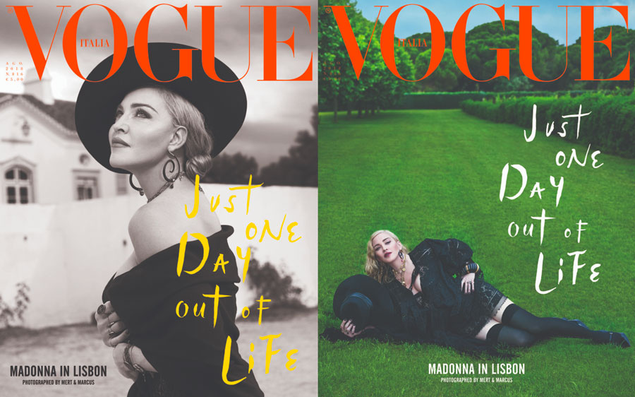 Madonna Vogue Italia