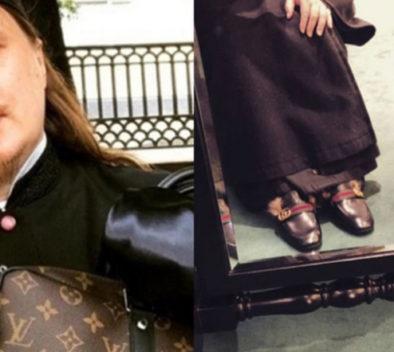 Cura amante de la moda.