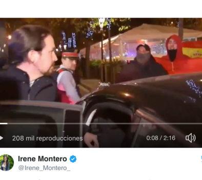 Irene Montero Pablo Iglesias Maricón