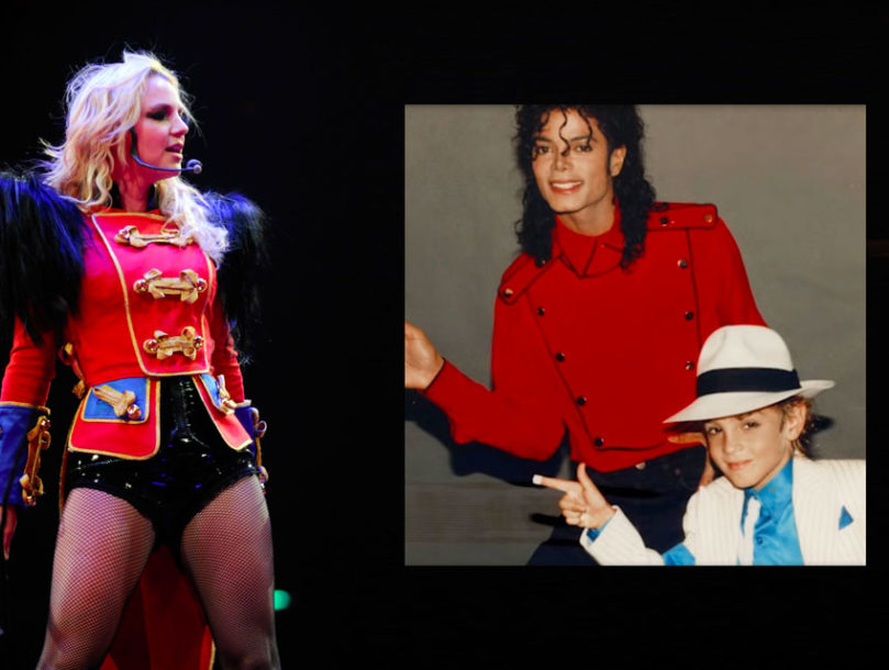 Britney Spears Wade Robson Circus Michael Jackson