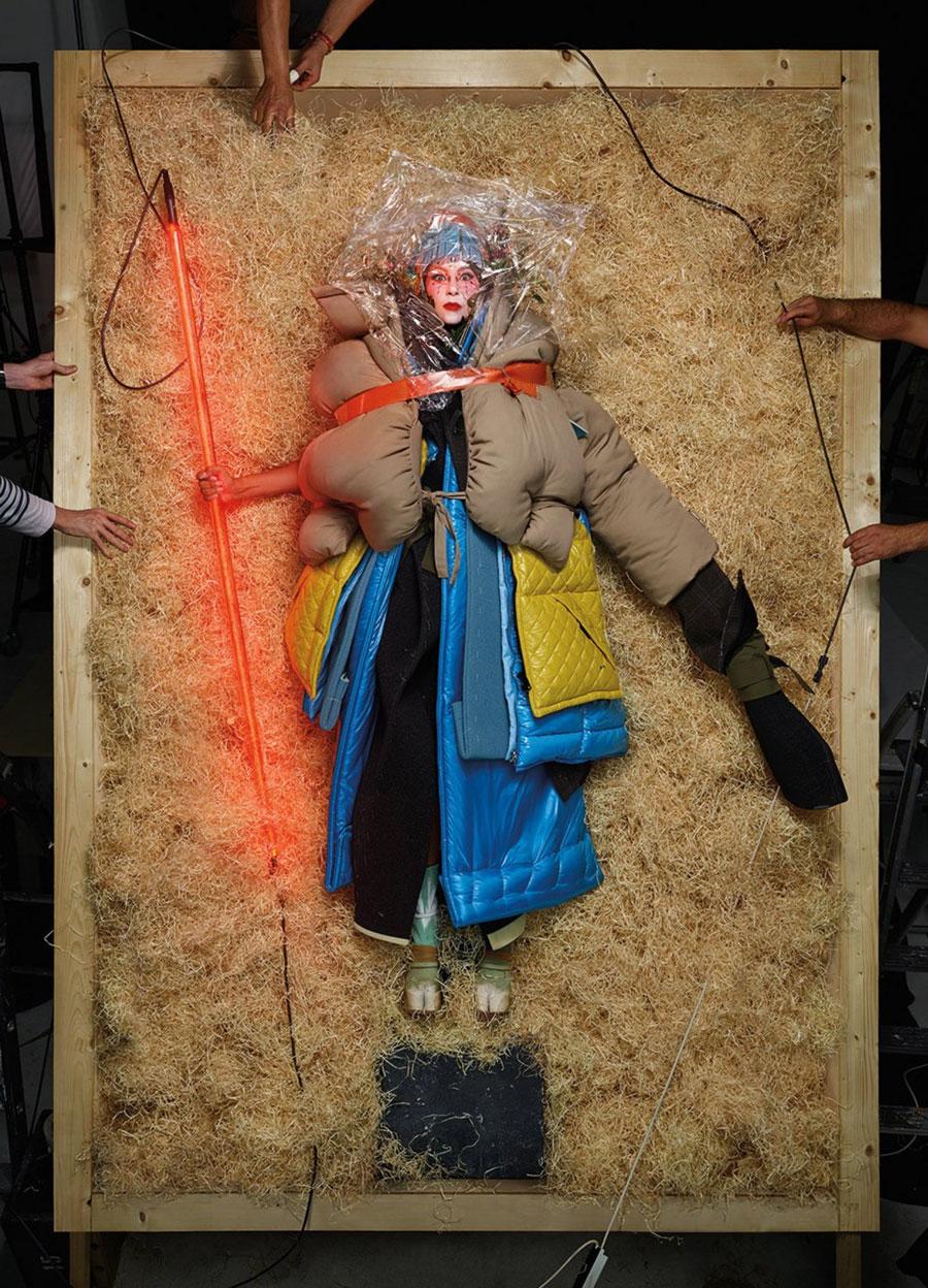 Lady Gaga Jean Paul Goude V Magazine