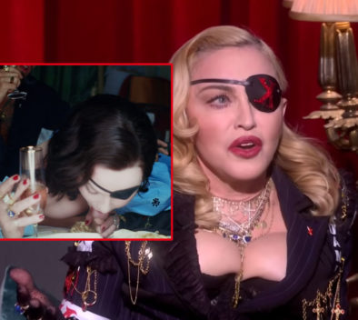 Madonna pies Maluma