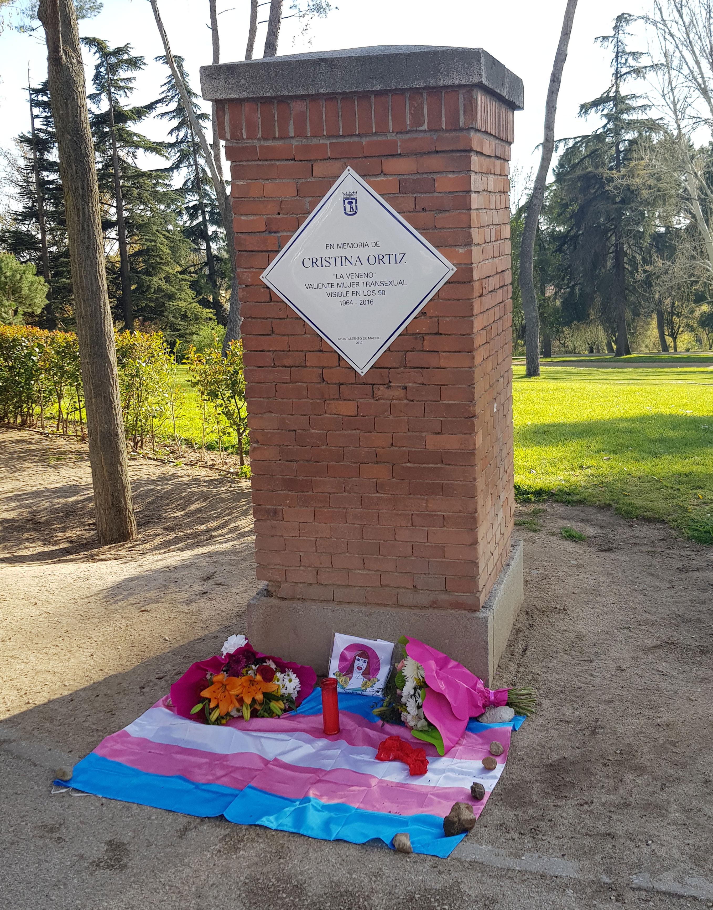 Placa La Veneno Parque del Oeste