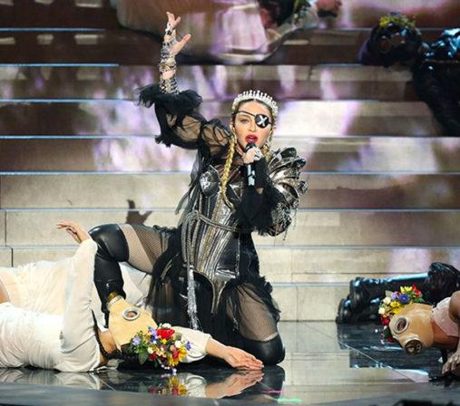 Madonna Eurovisión