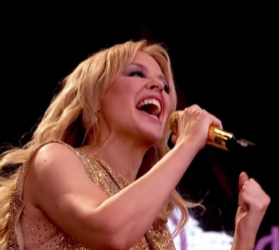 Kylie Minogue Glastonbury