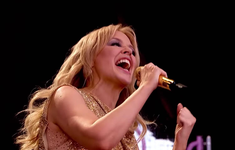 Kylie Minogue Glastonbury