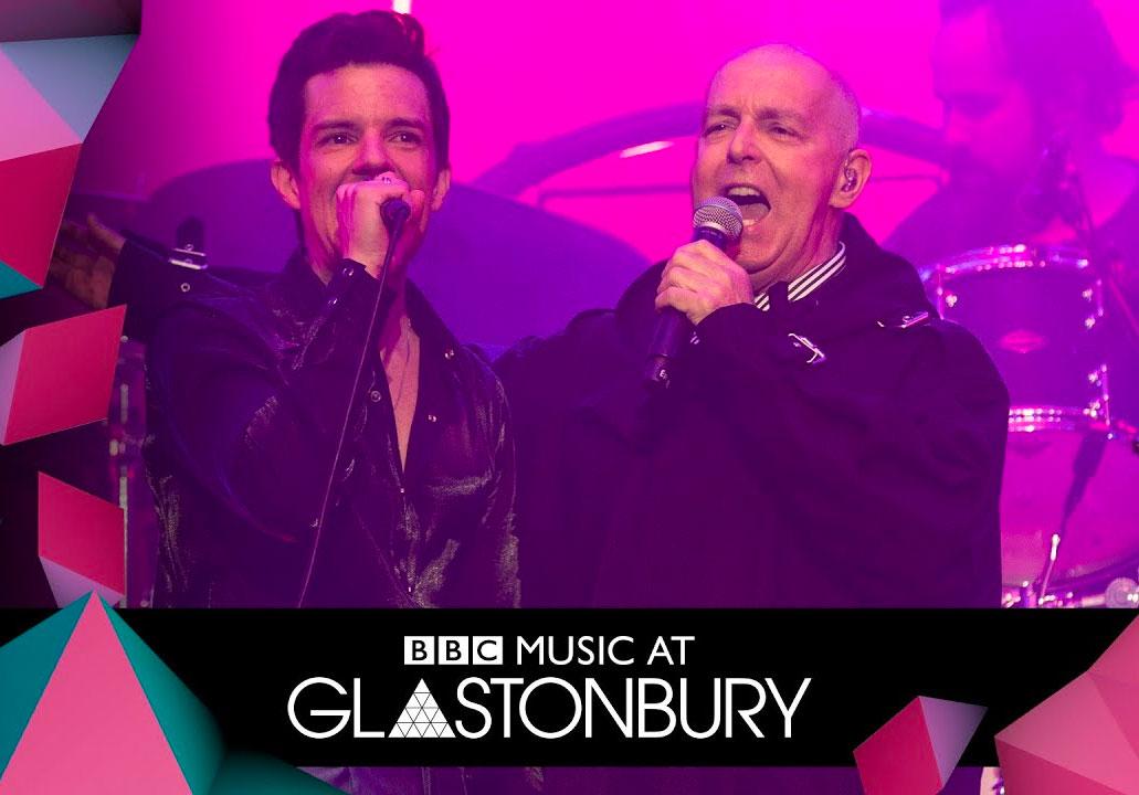 Pet Shop Boys The Killers Brandon Flowers Glastonbury