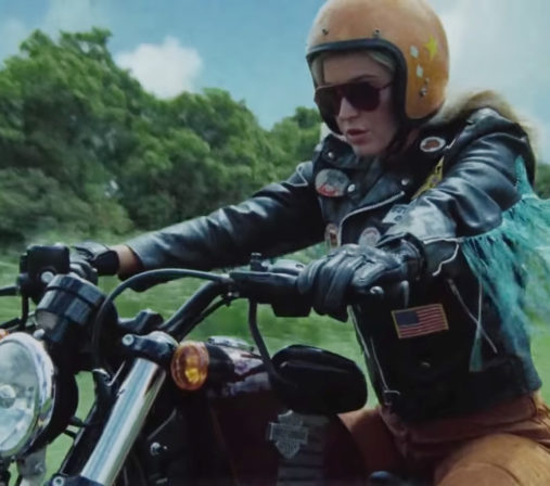 Katy Perry Harleys In Hawaii