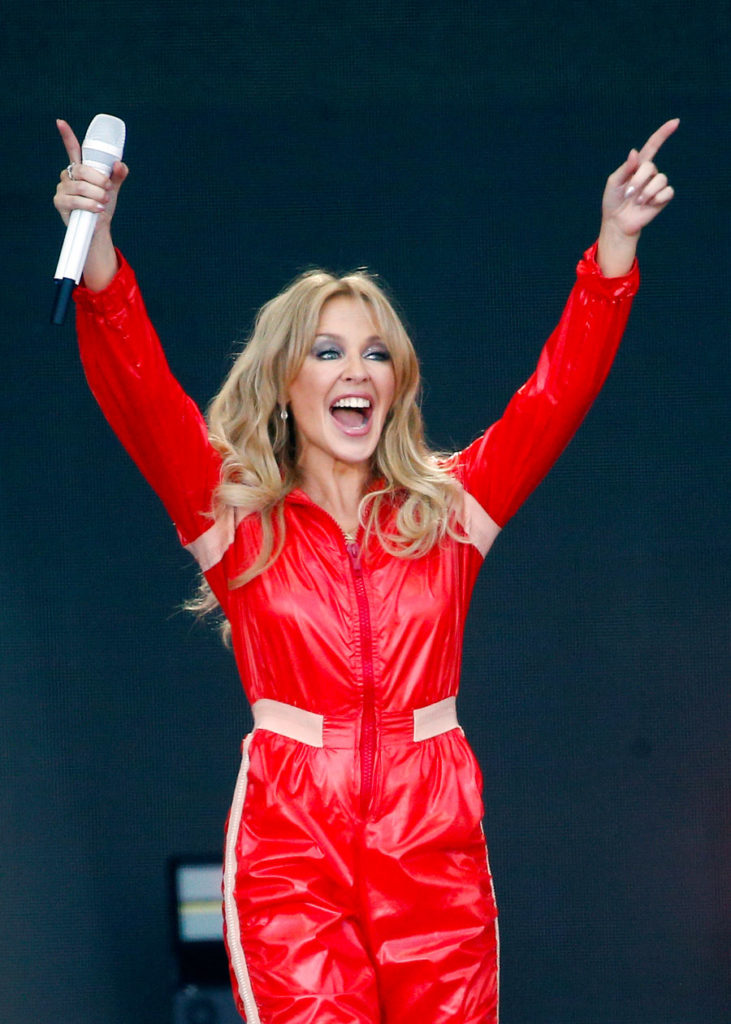Kylie Minogue en Glastonbury