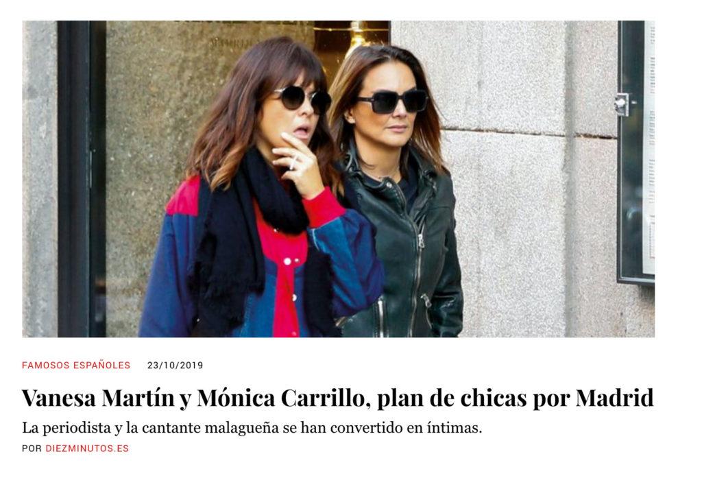 Vanesa Martin y Mónica Carrillo