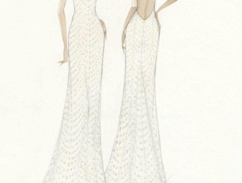 vestido de novia de Xisca