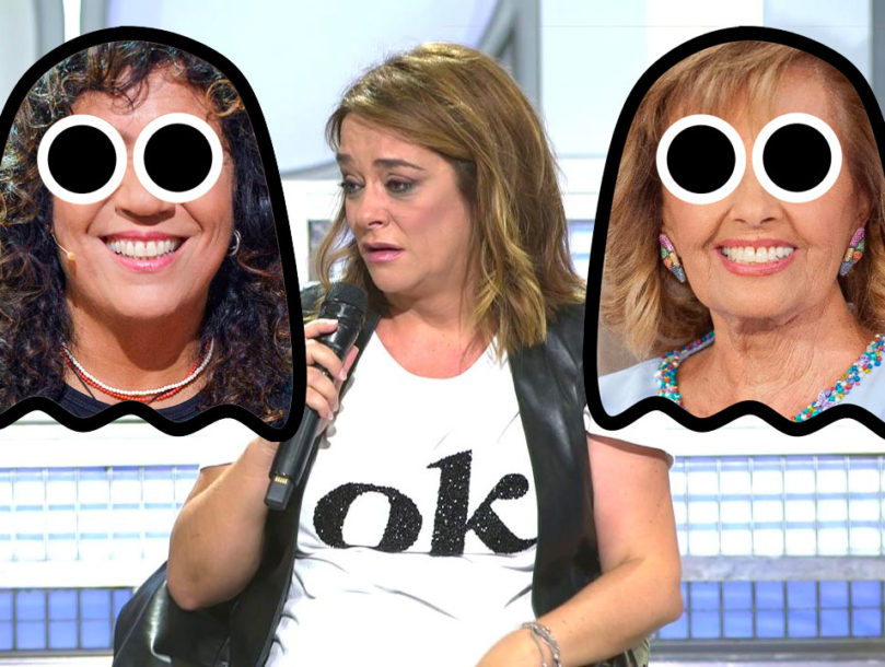 Toñi Moreno, Rosana y María Teresa Campos