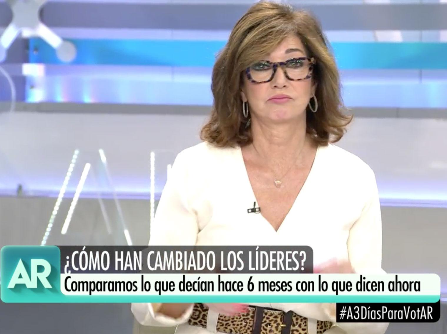 A quién vota Ana Rosa Quintana